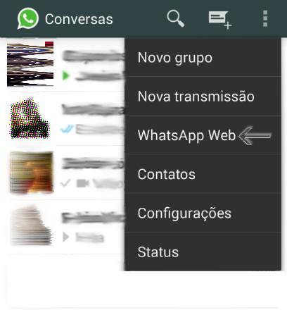 WhatsApp Web Passo 2